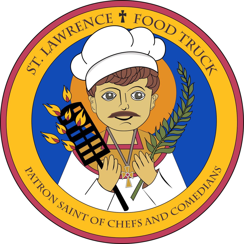 St. Lawrence Food Truck Logo